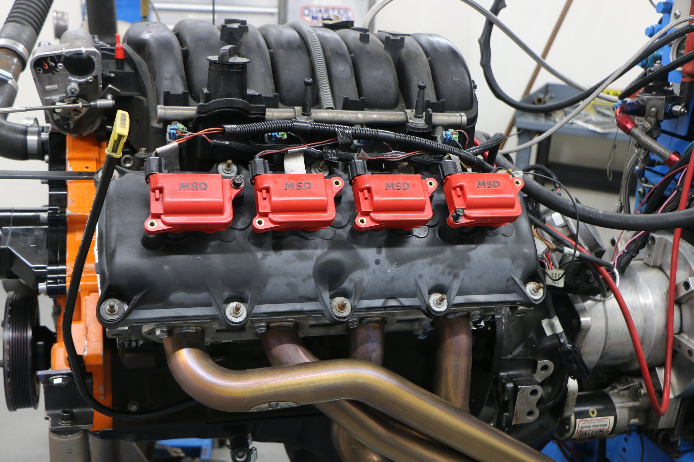Chrysler 5.7L Hemi Valve Covers with MSD coil packs