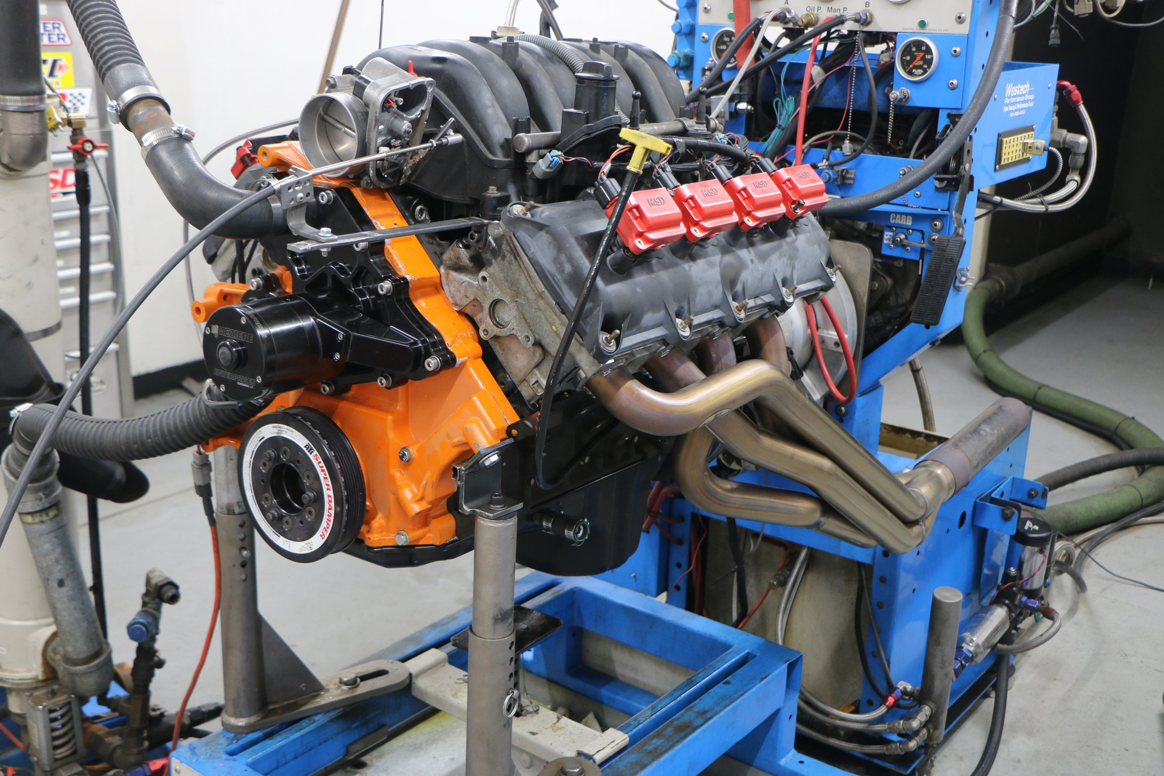 5.7L Hemi header test: 1 7/8 primary tubes