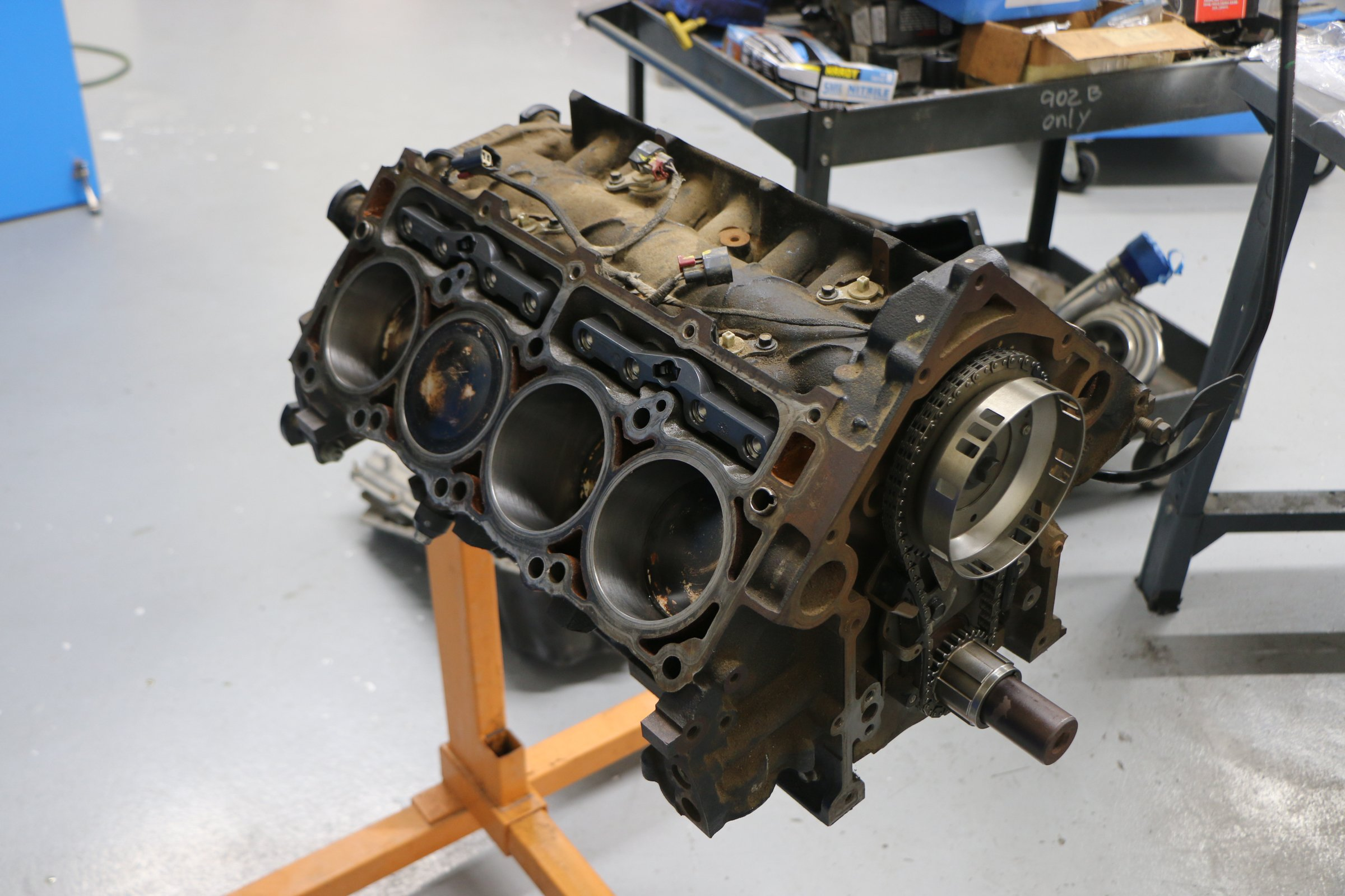5.7L truck block starting point