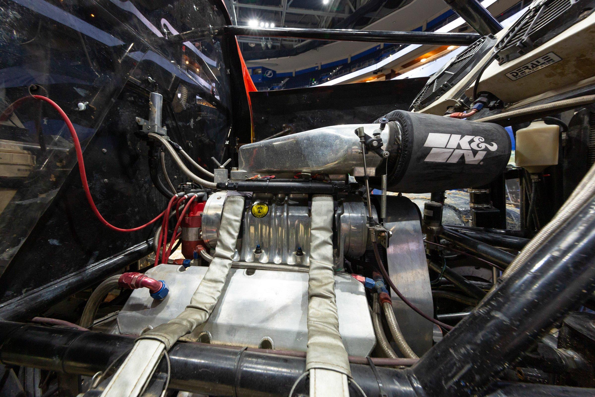 Monster Jam engine