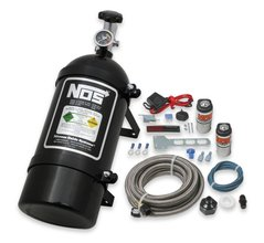 NOS Powershot Wet Basic Nitrous Kit without Injector Plate - Black