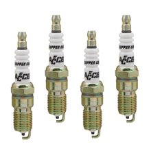 Spark Plug - 14mm Thread - .708 in Reach -  Heat Range 6 - 4 Pack