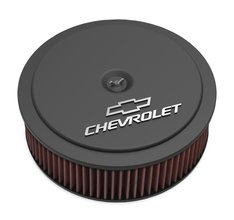 GM Muscle Series Air Cleaner - Satin Black Machined