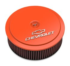 GM Muscle Series Air Cleaner - Factory Orange Machined