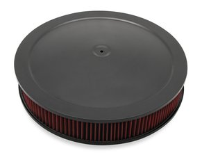 4500 drop base air cleaner black w/3