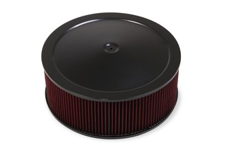4500 Drop Base Air Cleaner Black w/6