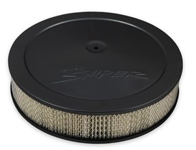 "Sniper Air Cleaner Assembly, 14"" x 4"" – Black Finish"