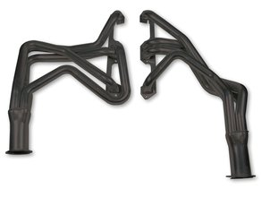 Flowtech Long Tube Header - Black Paint