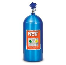 10 lb Electric Blue Nitrous Bottle