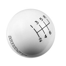 Hurst Shift Knob - White 6 Speed 9/16-18 Threads