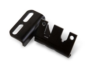 Cable bracket for 90, 95, & 105mm throttle bodies on Holley Hi-Ram or Mid-Rise intakes