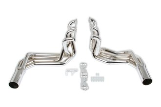 Hooker Super Competition Sidemount Headers - Chrome