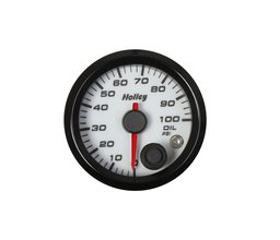 Holley Analog Style Oil Pressure Gauge