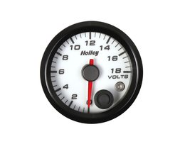 Holley Analog Style Voltage Gauge