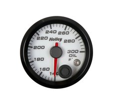 Holley Analog Style Oil Temperature Gauge
