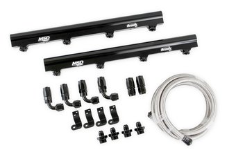 Msd Atomic EFI Billet Fuel Rails