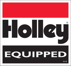 Holley Equipped Decal
