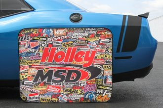 Holley Sticker Bomb Tire Shade