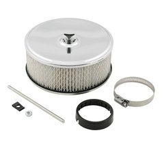 Mr. Gasket Deep Dish Air Filter Assembly - Chrome