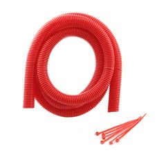Mr. Gasket Wire Cover Kit 4' L X 3/4