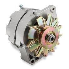 Mr. Gasket 1-Wire Alternator - 100 Amp - Natural Finish