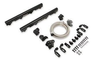 BILLET FUEL RAILS KIT - OE TRUCK LS INTAKES