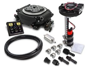 Holley Sniper EFI Returnless Master Kit - Black Ceramic