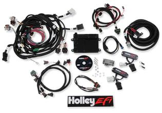 Holley EFI 558-435 Unterminated Vehicle Harness for Digital Dash