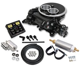 Holley Sniper EFI 2300 Self-Tuning Master Kit - Black Ceramic Finish