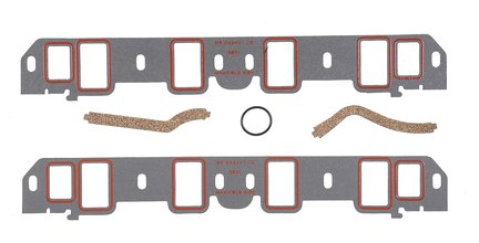 Intake Manifold Gasket Set - Ultra-seal -  289, 302  Ford Small Block Windsor 1964-76