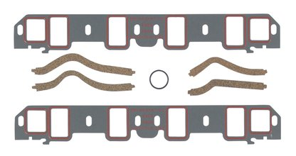Intake Manifold Gasket Set - Ultra-seal - 351W Ford Small Block Windsor 1977-97