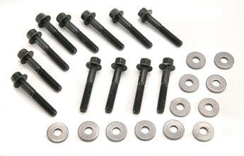 Mr. Gasket Intake Manifold Bolt Set - Super Flanged Head