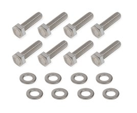 Mr. Gasket Timing Cover Bolt Set - Stainless Steel
