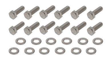 Mr. Gasket Rear Cover Bolt Set - Stainless Steel