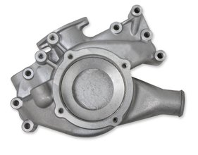 Mr. Gasket Cast Aluminum Water Pump Housing with Water Neck