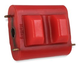 Hooker BlackHeart Polyurethane Engine Mount Insert - Red