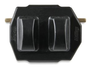 GM LS/LT and Mopar Gen III Hemi Polyurethane Engine Mount Insert - Black