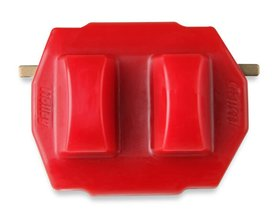 GM LS/LT and Mopar Gen III Hemi Polyurethane Engine Mount Insert - Red
