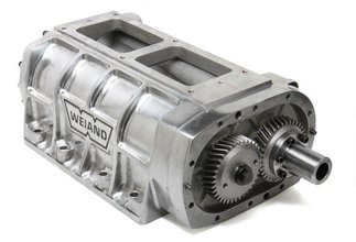 Weiand 6-71 Supercharger Case Assembly - Polished