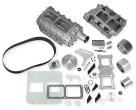 Weiand 6-71 Supercharger Kit - Satin