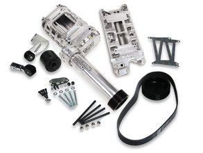 Weiand 174 Powercharger Kit - Polished