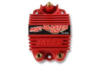 MSD Ignition Coil Blaster SS Series, 6-Series Igntions, Red, Individual