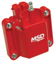 MSD Ignition Coil Dual Connector, Red, GM Dual Connector Coil
