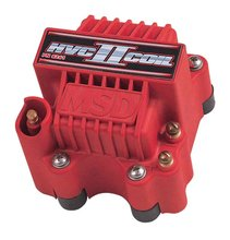 MSD Ignition Coil HVC-2 Series , 7-Series or 8-Series Ignition Control, Red, Individual