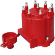 MSD Ignition 5564 8mm Street Fire Spark Plug Wires SBC Socket Cap Under Manifold