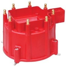GM HEI Distributor Cap, Red