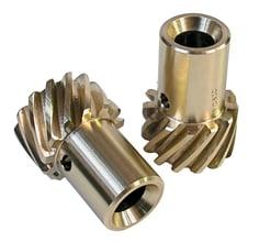 Oversize Chevy Distributor Gear, Bronze, +0.006