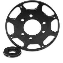 Small Block Chevy Replacement Trigger Wheel, Flying Magnet- Black