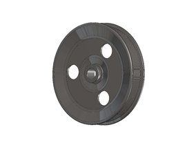 PULLEY SMALL P/S PUMP (USE W/UNDERDRIVE BALANCER)