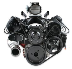 Holley Premium Black Mid-Mount Complete Accessory System